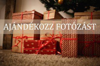 Ajándék fotózás karácsonyra
